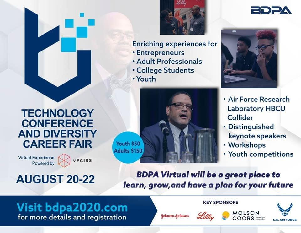 Register now for Virtual BDPA2020